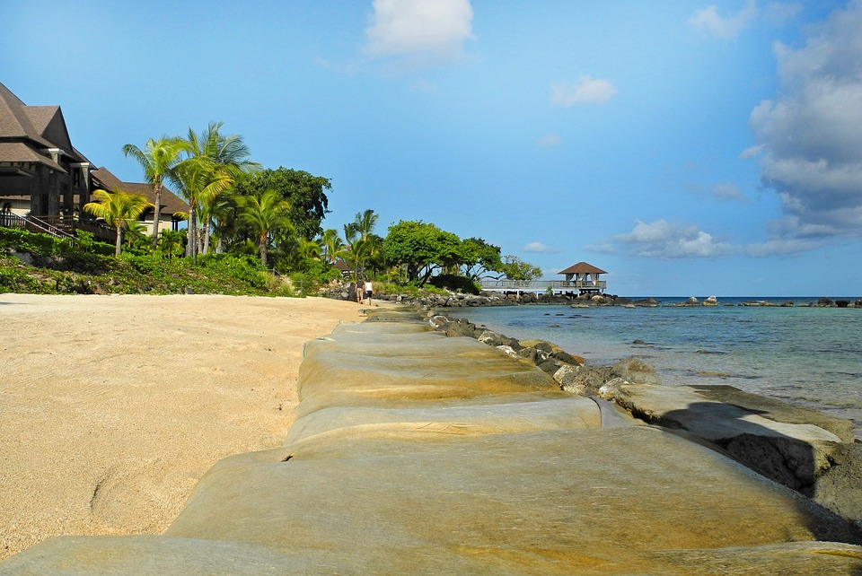 Day at Ile Aux Coco in Mauritius