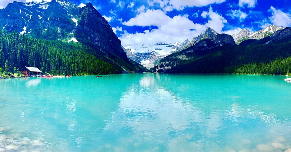 Insiders view on Banff Lake Louise