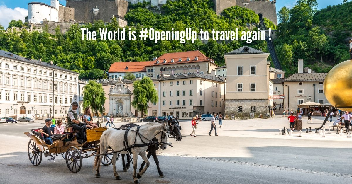 The World is #OpeningUp to travel again ! (Part 2)