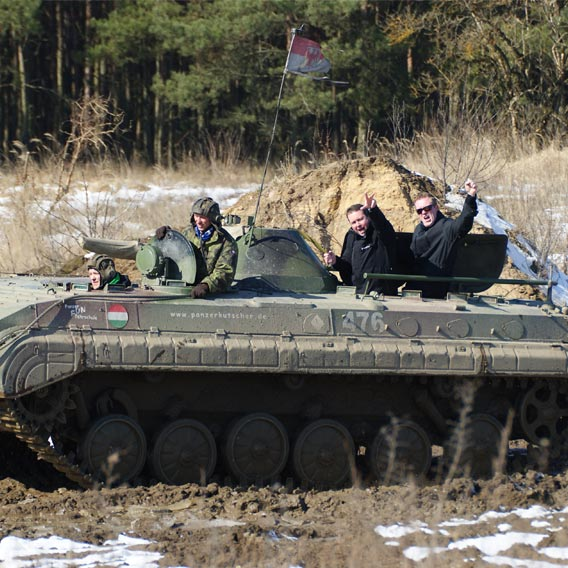Team Building with Tank Experience