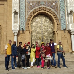 It was indeed a wonderful  experience. Overall Morocco is a lovely destination, very exotic and beautiful. It was a complete package. I would like to thank Alifiya for all her efforts and for organizing such a lovely carefully planned trip. Hats of to The Wanderers!
